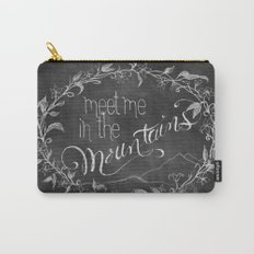 Meet Me in the Mountains Carry-All Pouch