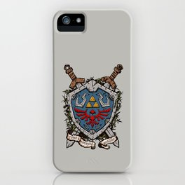 The shield iPhone Case