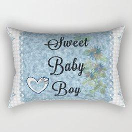 Sweet Baby Boy Rectangular Pillow