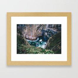 Treasure Cove    Oregon Coast Framed Art Print