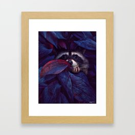 i've learned a lot just by watching you exist. Framed Art Print