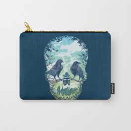 Nature's Skull Carry-All Pouch