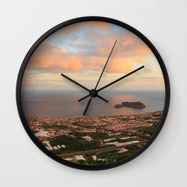 Vila Franca do Campo Wall Clock