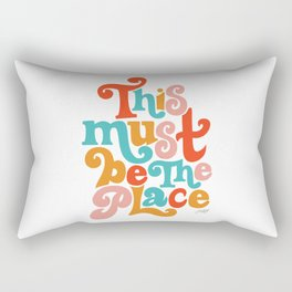 This Must be the Place (Primary Palette) Rectangular Pillow