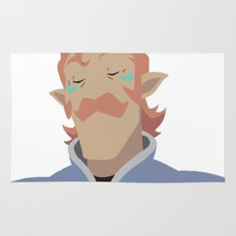 Coran Coran the Gorgeous Man - Voltron Legendary Defender Rug
