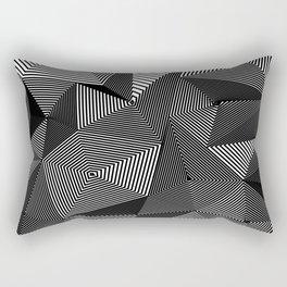 Geometric Doodle Rectangular Pillow