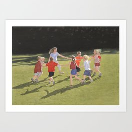 Dunwoody Park Art Print