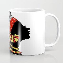 Black Queen (red) Coffee Mug
