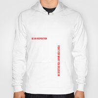 motivation Hoodies featuring MOTIVATION by Cindy Lepage