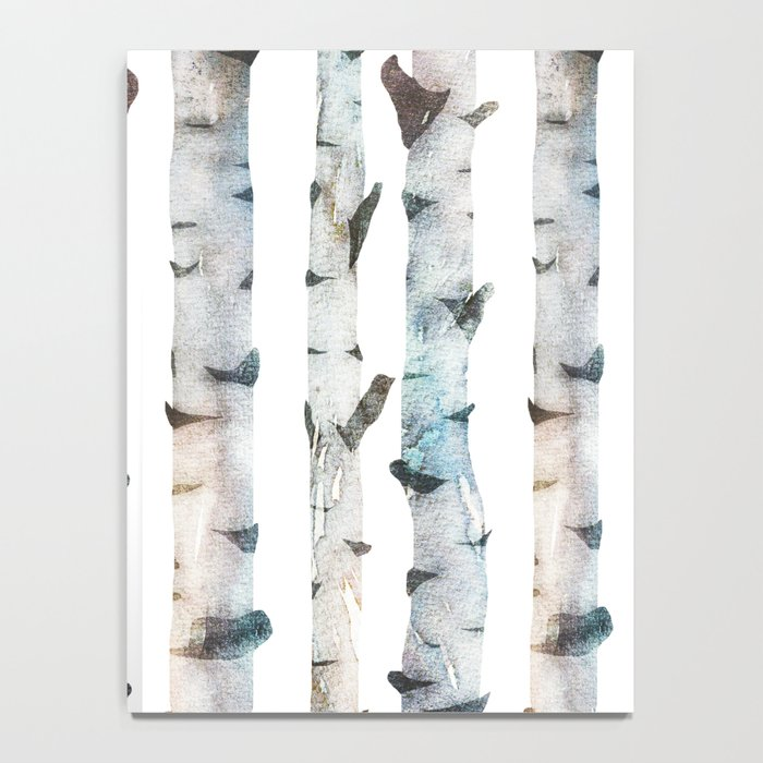 Birch Tree Notebook