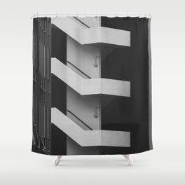 Emergency Escape Shower Curtain