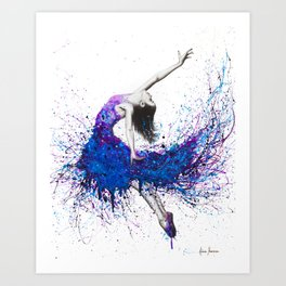 Evening Sky Dancer Art Print