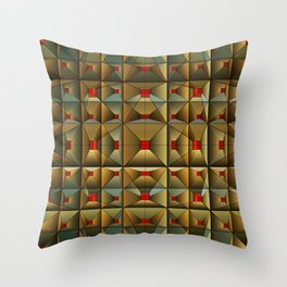 Gold Standard, 2500z Throw Pillow