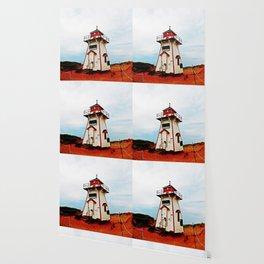 Lighthouse Crow of PEI Wallpaper