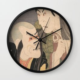 Sharaku Wall Clock