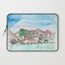 Strasbourg Alsace France Petite France Ill Waterfront Laptop Sleeve