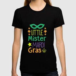 Little Mister Mardi Gras shirt T-shirt