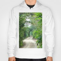 cape cod Hoodies featuring Lover's Arch, Cape Cod by JezRebelle