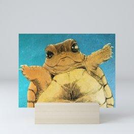 TURTLE HUG Mini Art Print