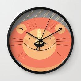 Cute Lion Wall Clock