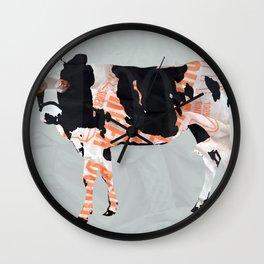 Kuh Collage Wall Clock