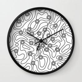 Topo Wall Clock