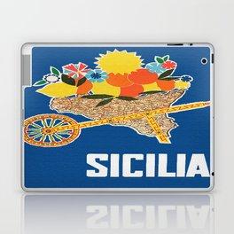Sicilia - Sicily Italy Vintage Travel Laptop & iPad Skin