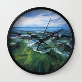 Sea Painting Wall Clock