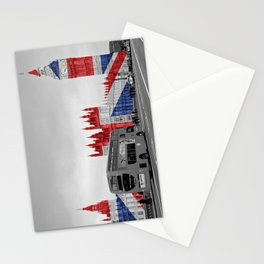 Big Ben, London Bus and Union Jack Flag Stationery Cards