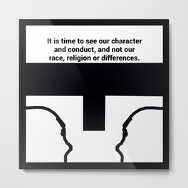 Race Relations Metal Print