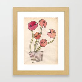 Killer plants Framed Art Print