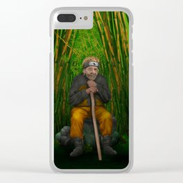 Old Ninja iPhone 4 5 6 7 case, pillow case, mugs and tshirt Clear iPhone Case