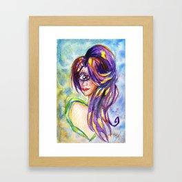 Leela Framed Art Print