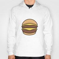 burger Hoodies featuring BURGER by KODYMASON