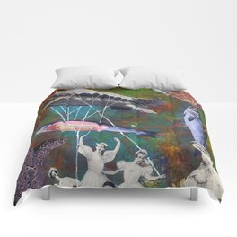 Underwater ballet Comforters