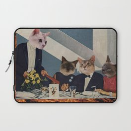 Cats Dine Laptop Sleeve