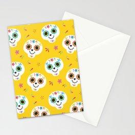 Mexican Fiesta Neck Gator Sugar Skull Mexico Stationery Cards