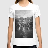 the mountains are calling T-shirts featuring The Mountains Are Calling by okalova