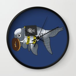 Goldfish Greg Lestrade Wall Clock