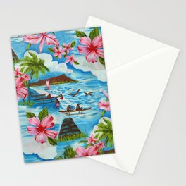 Hawaiian Scenes Stationery Cards