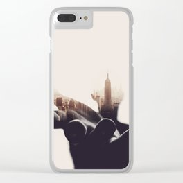 Sheltered Dreams II Clear iPhone Case