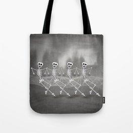 Dancing skeletons I Tote Bag