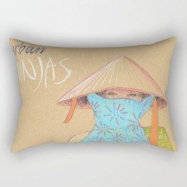 Urban Ninjas Rectangular Pillow