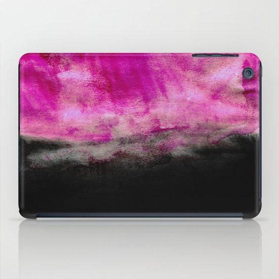 Magenta & Black iPad Case