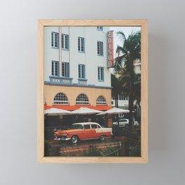 Art Deco Heaven, Miami Beach Framed Mini Art Print