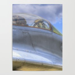Mig-29B Fighter Jet Poster