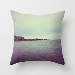Seasides Throw Pillow