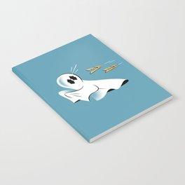 A Fearful Phantom (Teal) Notebook