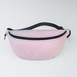 Rainbow Watercolor Astronomy Fanny Pack