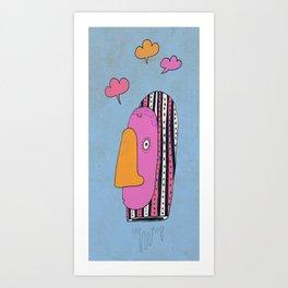 Le siffleur Art Print